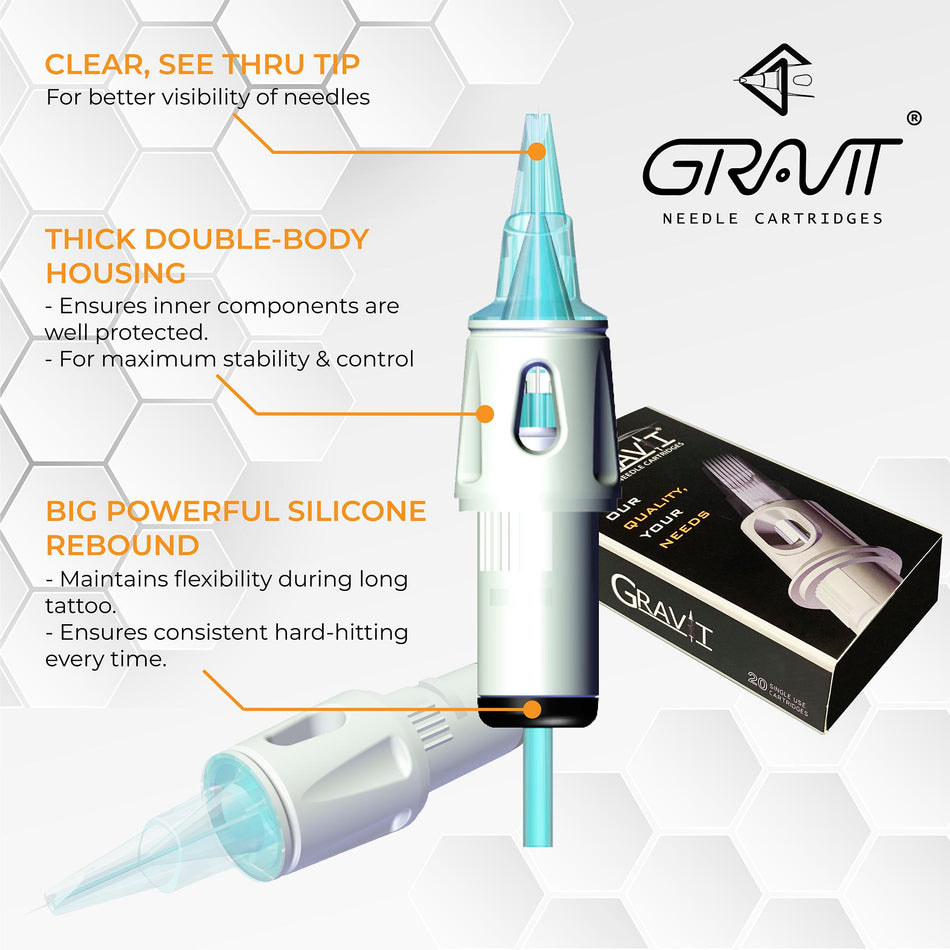Magnum | Gravit Needle Cartridges (USA) [variant_title]