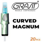 Curved Magnum | Gravit Needle Cartridges 1009RM-0.30MM