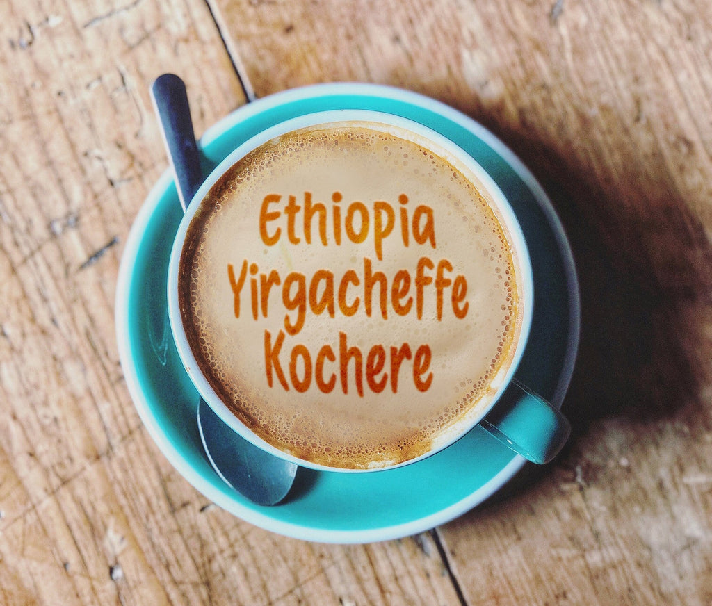 1 lb Custom Roasted Ethiopia Yirgacheffe Kayumas Coffee - Fresh Ground or Whole Bean Coffee - Custom fresh Roasted Coffee made with freshest beans | Kona, Blue Mountain