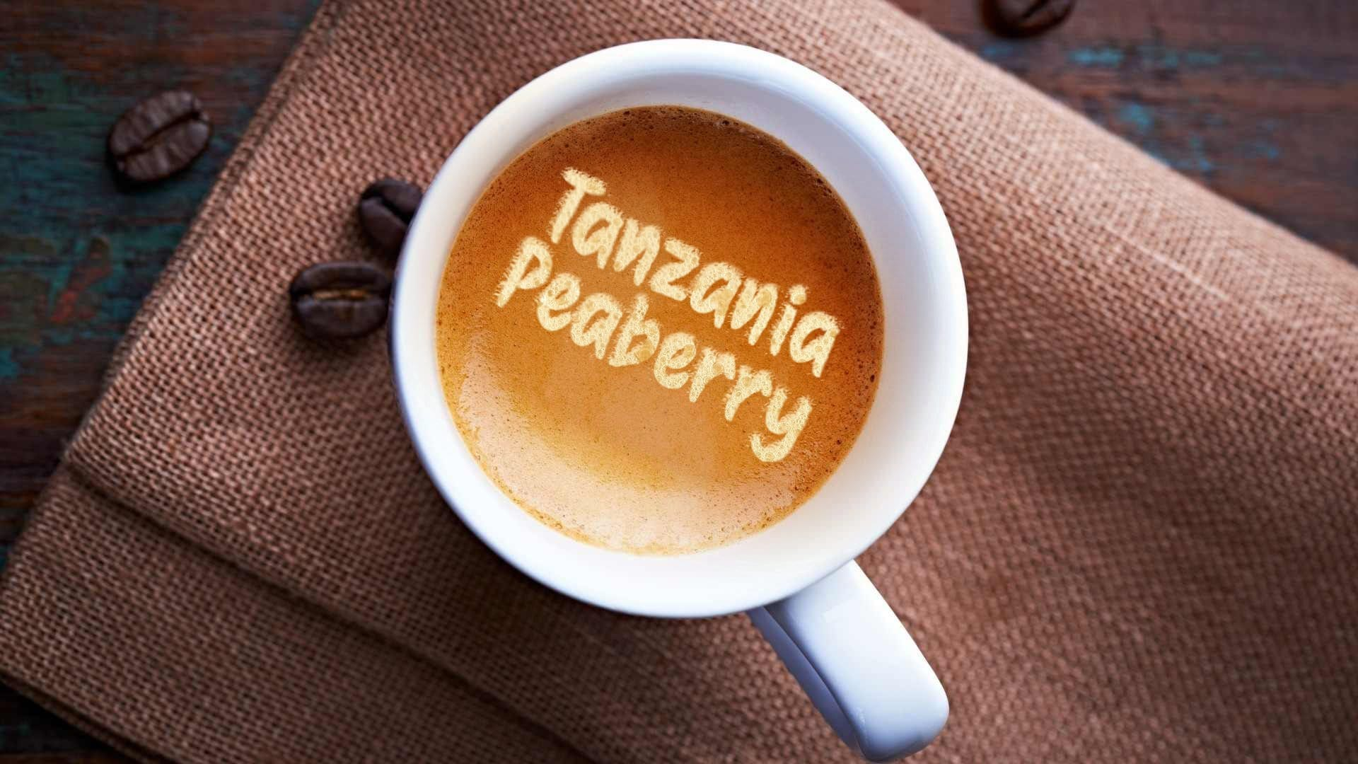 1/2 lb Custom Roasted Tanzania Peaberry Coffee - Fresh Ground or Whole Bean Coffee - Custom fresh Roasted Coffee made with freshest beans | Kona, Blue Mountain