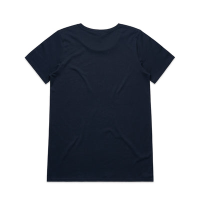 Womens Shallow Scoop Tee