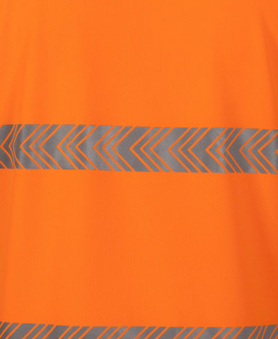 HI VIS S/S SEGMENTED TAPE POLO