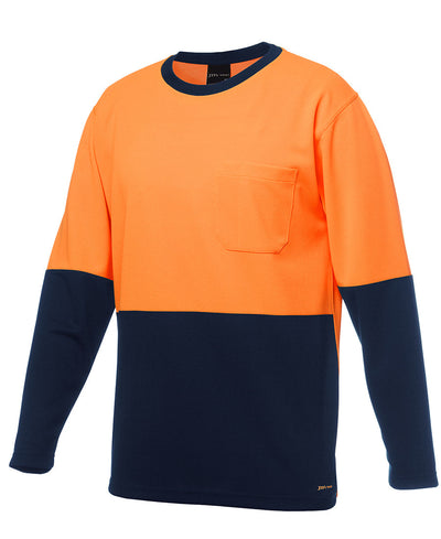 JB's Hi Vis Long Sleeve Traditional T-shirt