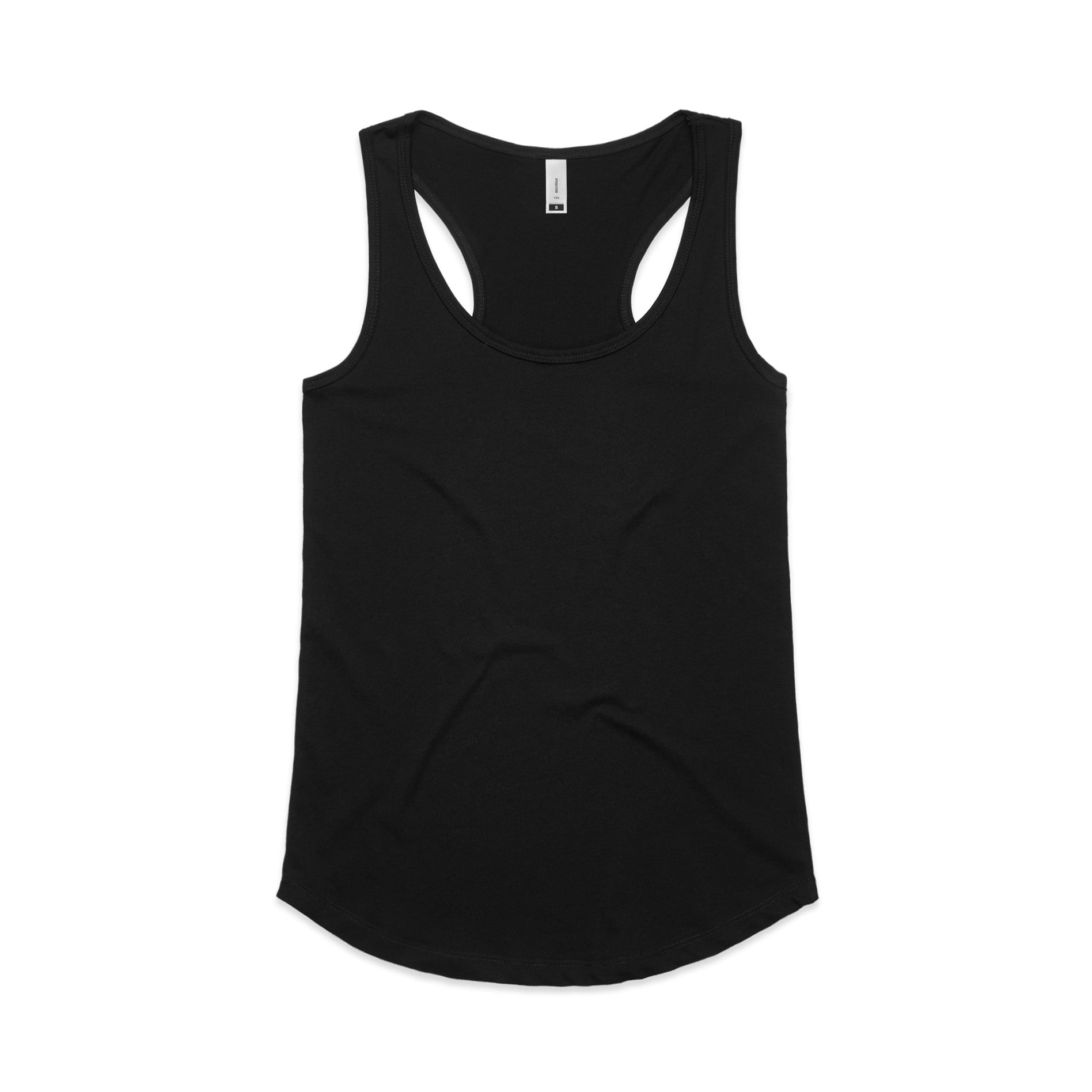 Womens Yes Racerback Singlet