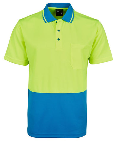ADULTS HI VIS NON CUFF TRADITIONAL POLO