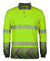 HI VIS L/S ARROW SUB POLO WITH SEGMENTED TAPE