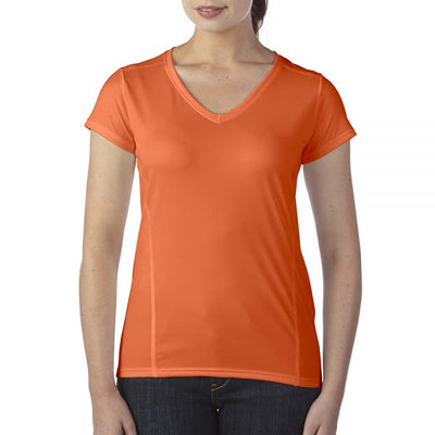 GILDAN™ PERFORMANCE WOMENS SHORT SLEEVE V-NECK T-SHIRT
