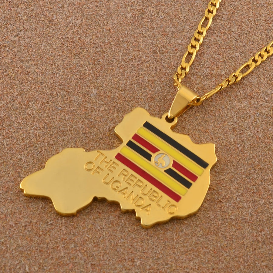 Republic of Uganda Necklace