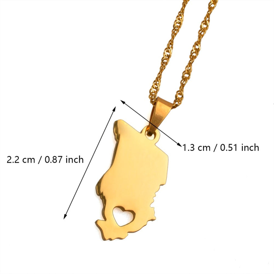 My Chad Necklace