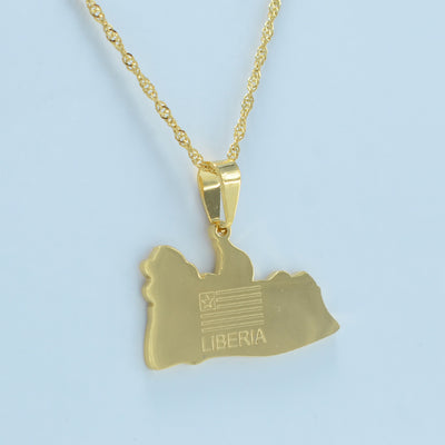 My Liberia Necklace