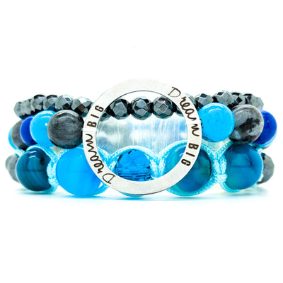 #11- Sky Full of Dreams Bracelet Stack