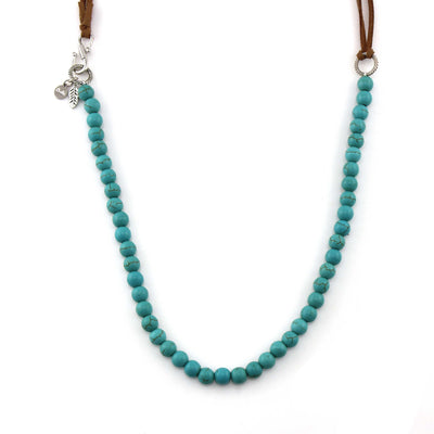 Choker Wrap Turquoise Necklace