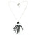 Tassel and Stone Neckalce