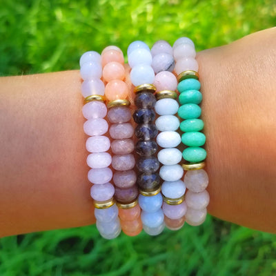Angel Pastel Crystal Bracelets