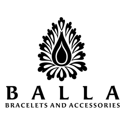 Balla Magnetic Perfect Balance Hematite & Leather Wrap Bracelet
