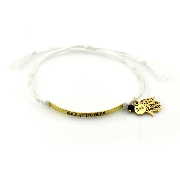 Breathe Deep Bracelet Set