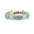 Balla Sea Shore Crystal Bracelet with Layered Blue and Clear Beads