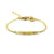 Balla Golden Simplicity Bracelet with Yellow Beads and Gold Chain