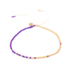 Prosperity Anklet - Purple