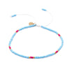 Strength in Balance Equilibrium Anklet - Turquoise and Pink