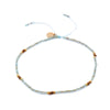 Strength in Balance Equilibrium Anklet - Green