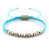Balla Blue Faith Strength Karma Bracelet