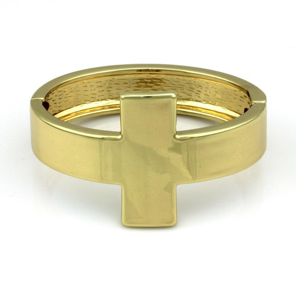 Balla Emma Gold Bangle Bracelet great for Stacking and Layering