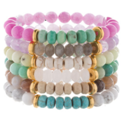 Angel Crystal Bracelet Stack
