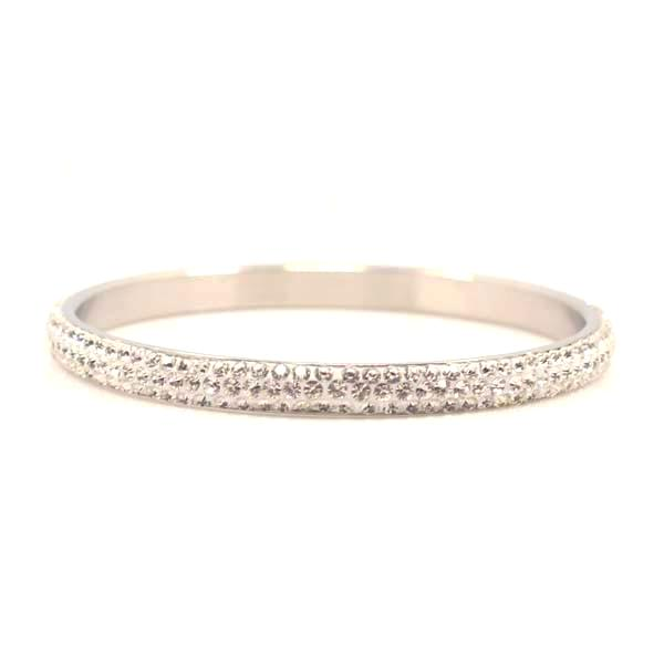 Austrian White Crystal Balla Skinny Stackable...