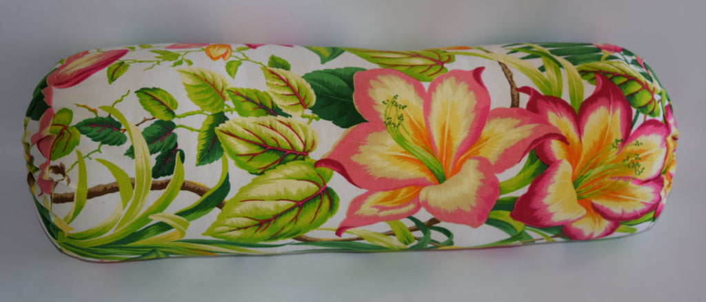 The Lilly Collections: Botanical Bolster Pillow Cover