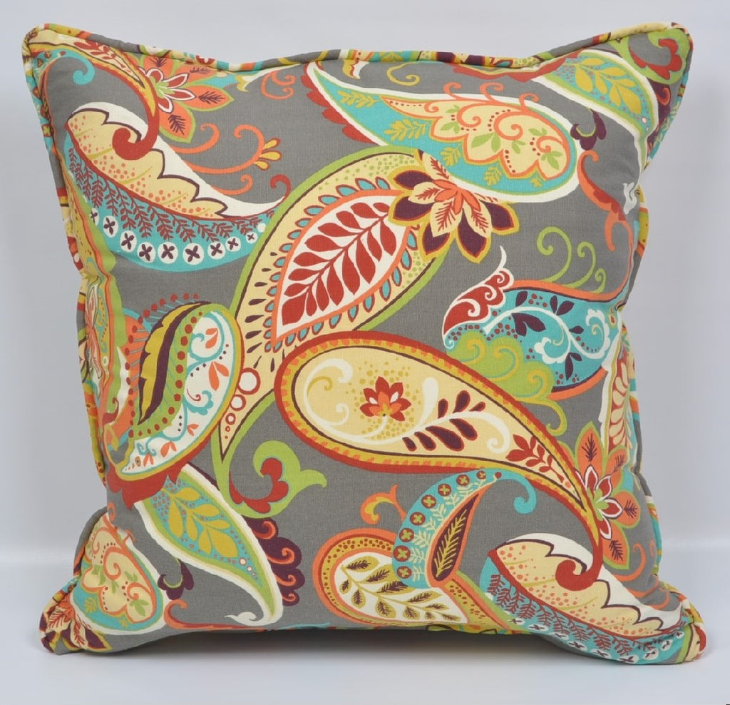 The Madison Collections: Mardi Gras Pillow Cover