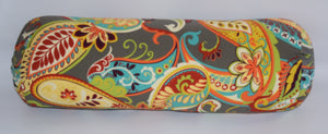 The Lilly Collections: Mardi Gras Bolster Pillow Cover