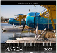 2021 Seaplane Photo Wall Calendar - Radial Edition