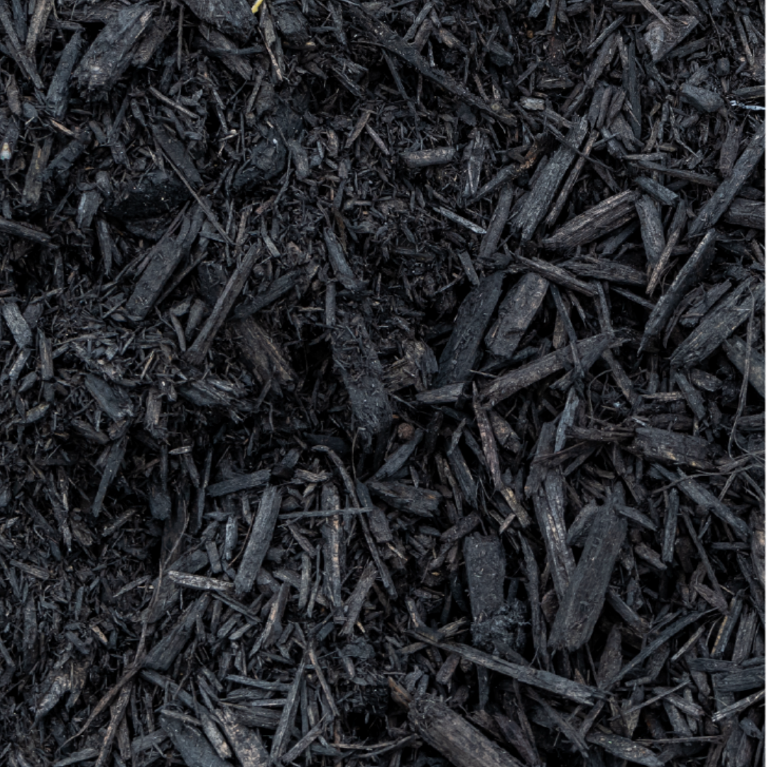 Midnight Black Hardwood Mulch
