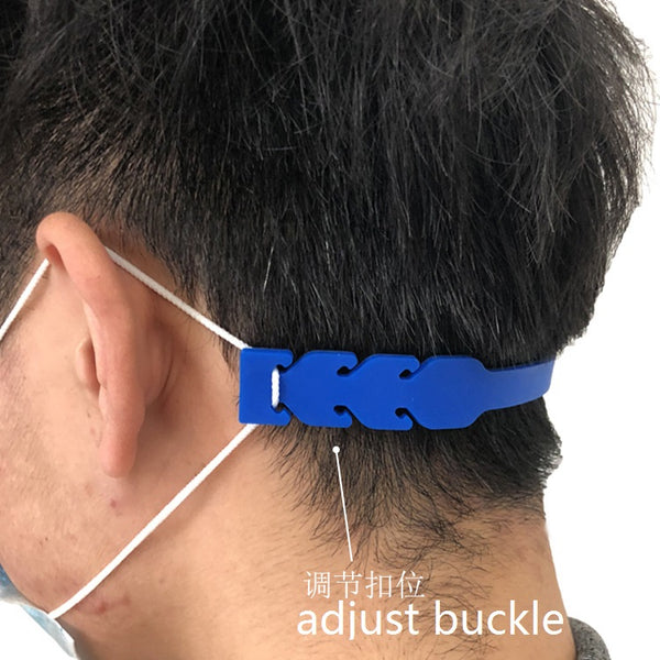 Adjustable Anti-slip Mask Accessories Ear Grips Extension Hook Face Masks Soft PVC Buckle Strap Holder