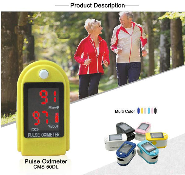 Manufacturer Portable handheld medical pulse oximeter finger