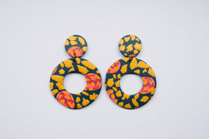 Dainty Paisley - Drop Donut Large Roosters