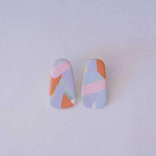 Pastel Pastel - Little Oblong Studs