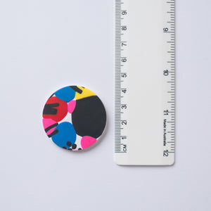 Colour Splash - Large Round Stud No. 2