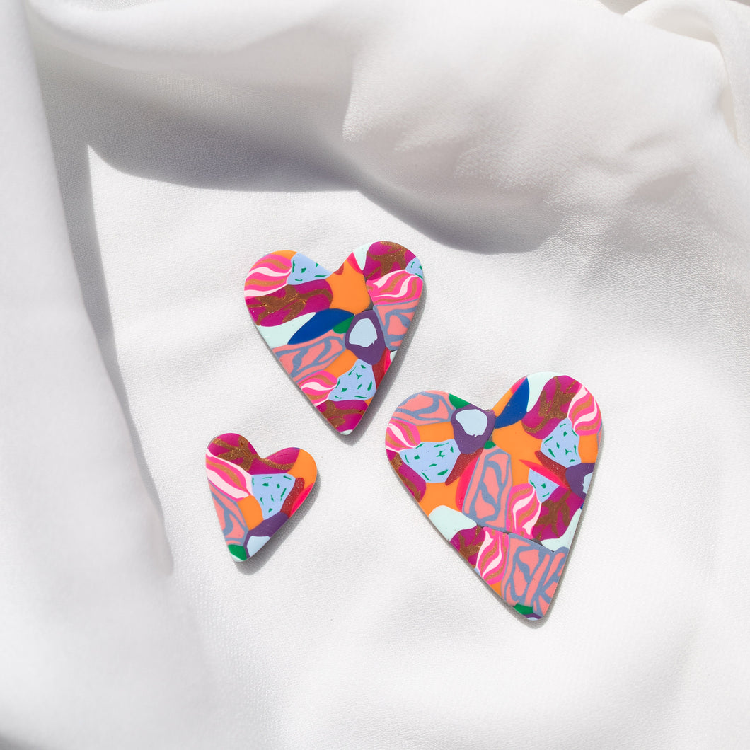 Petal Pop - Love Heart Stud