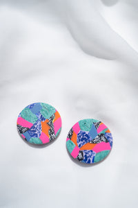 Marbled Madness - Round Stud
