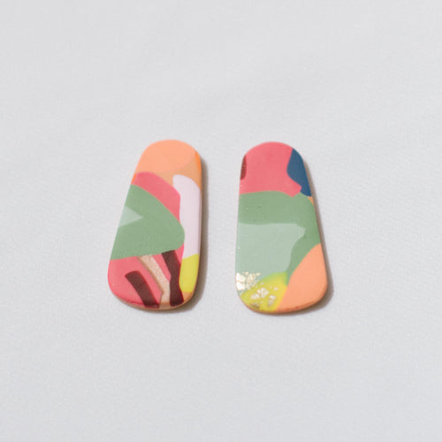 Tropical Summer - Little Oblong Studs