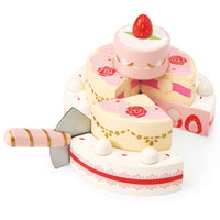 Strawberry Wedding Cake