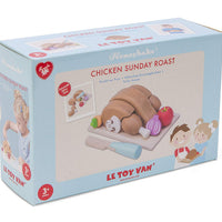 "Chicken ""Sunday Roast Set""+Tray & Knife"