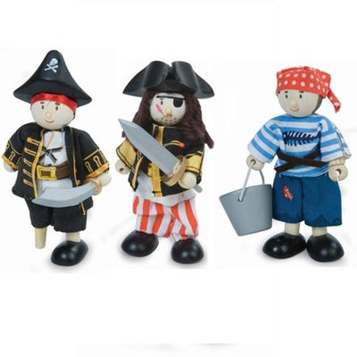 Budkins Gift Pack Pirate Set