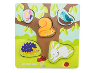 Mama-Baby Counting Puzzle
