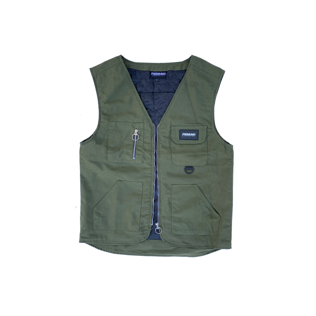 Outerwear Vest (Olive)
