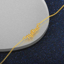 Load image into Gallery viewer, Sterling Silver Name Necklace