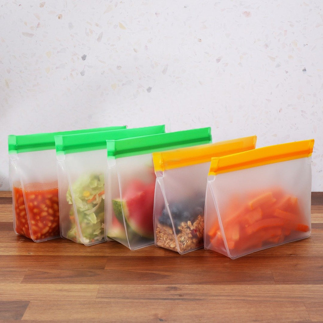 Multi Stand Up Reusable Food Bags
