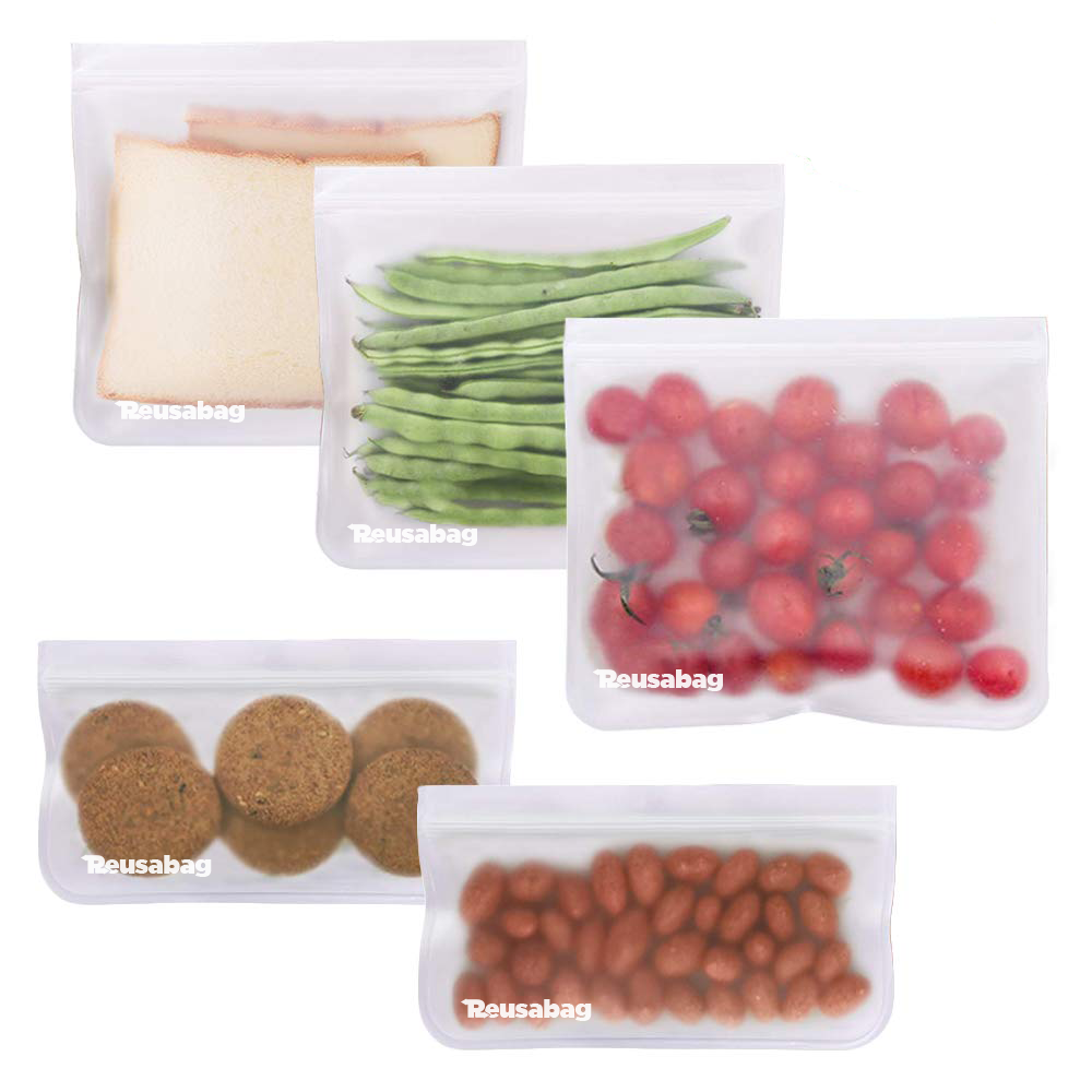 5 Reusable Food Bags